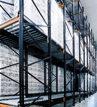 gravity flow pallet racking thumb 1